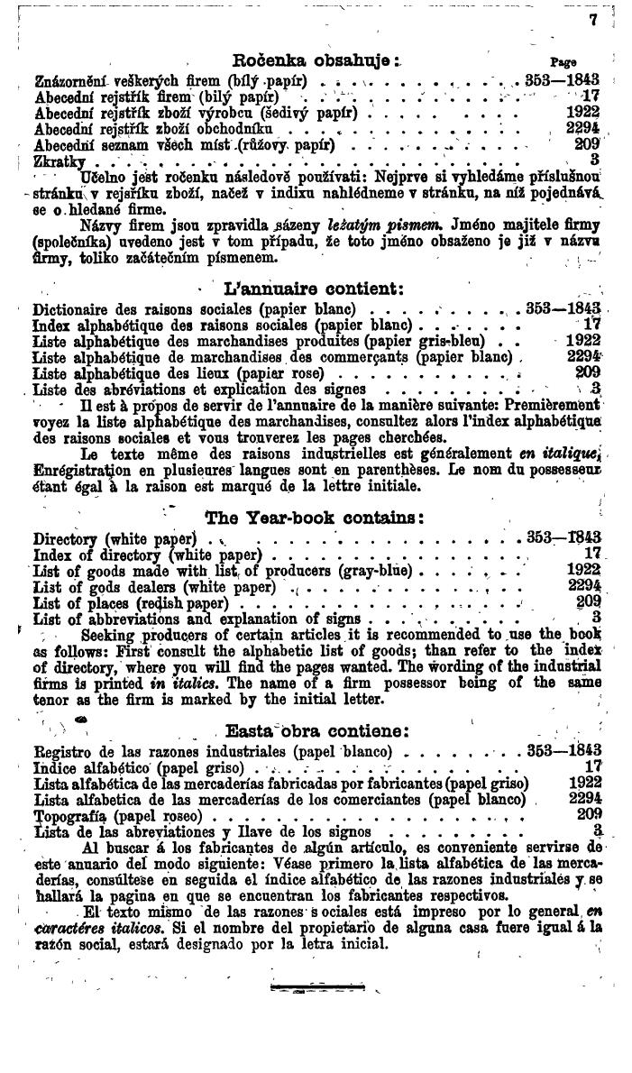 Compass. Finanzielles Jahrbuch 1924, Band V: Tschechoslowakei. - Page 11