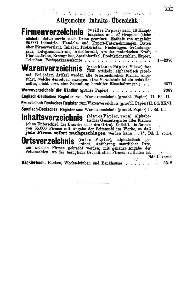 Compass 1913, III. Band, Teil 1 - Page 27