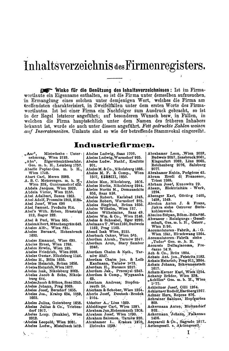 Compass 1913, III. Band, Teil 1 - Page 39