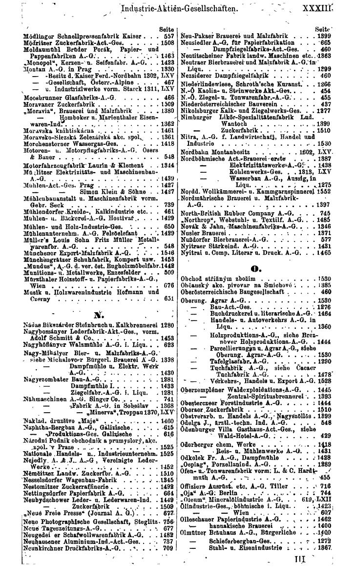 Compass 1920, I. Band, Teil 1 - Page 39