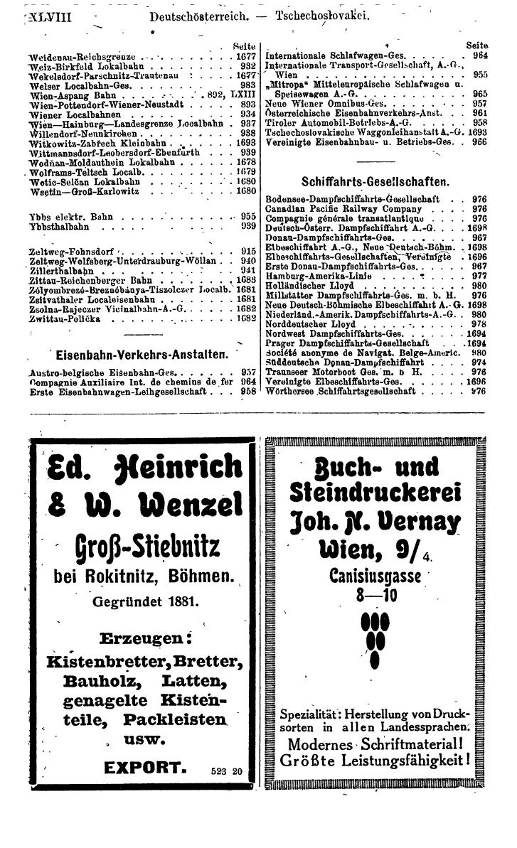 Compass 1920, I. Band, Teil 1 - Page 54