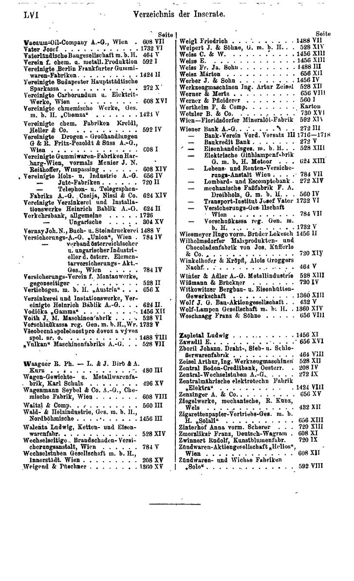 Compass 1920, I. Band, Teil 1 - Page 62