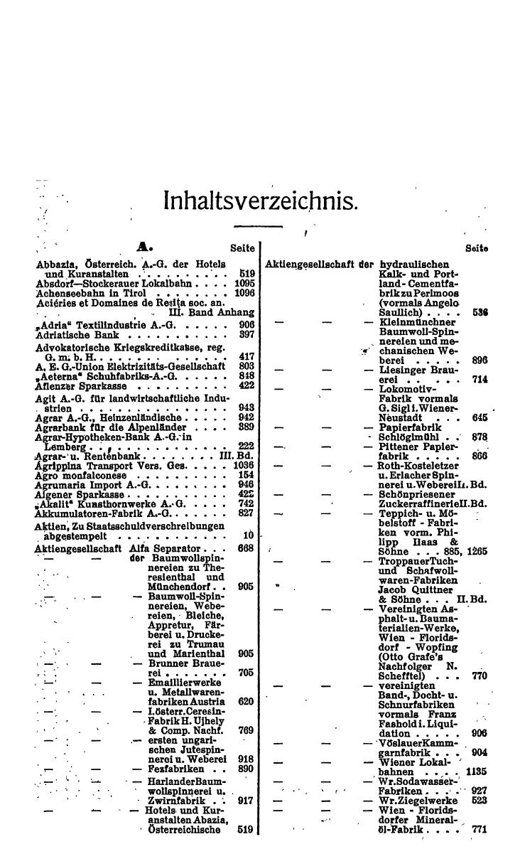 Compass 1922, I. Band, Teil 1 - Page 15